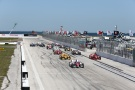 Bild: IndyCar, 2014, Petersburg, Start