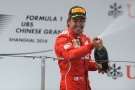 Bild: Formel 1, 2014, China, Ferrari, Alonso