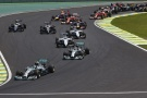 Formel 1, 2014, Interlagos, Start