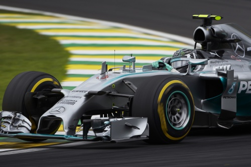 Formel 1, 2014, Interlagos, Rosberg, Pole