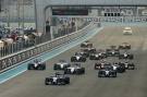 Formel 1, 2014, AbuDhabi, Start