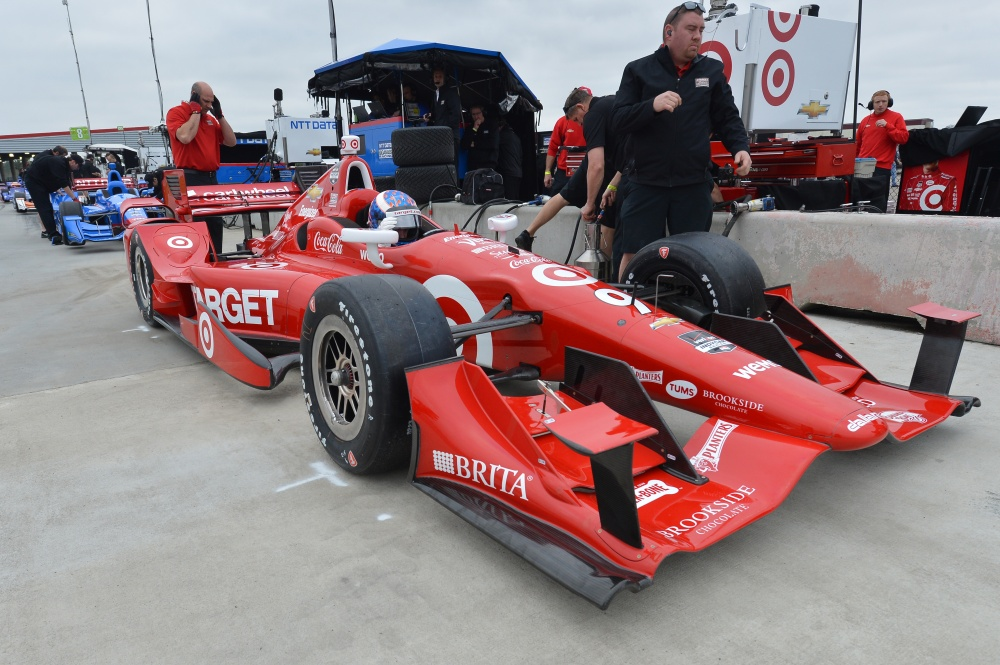 Bild: IndyCar, 2015, Tests, NOLA, Dixon