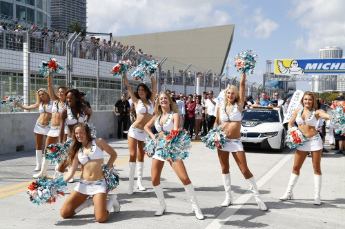 Formel E, 2015, Miami, Girls