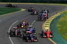 Bild: Formel 1, 2015, Melbourne, Start