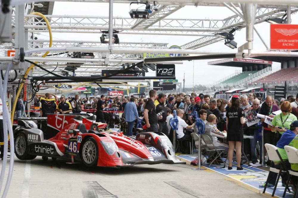 Bild: LeMans, 2013, Autograph Session