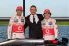 Bild: McLaren, Whitmarsh, Button, Perez