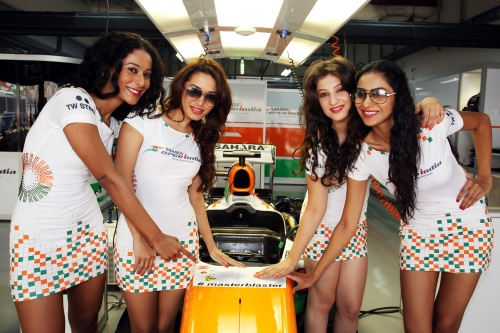 Formel 1, 2013, India, ForceIndia