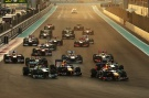 Formel 1, 2013, AbuDhabi, Start