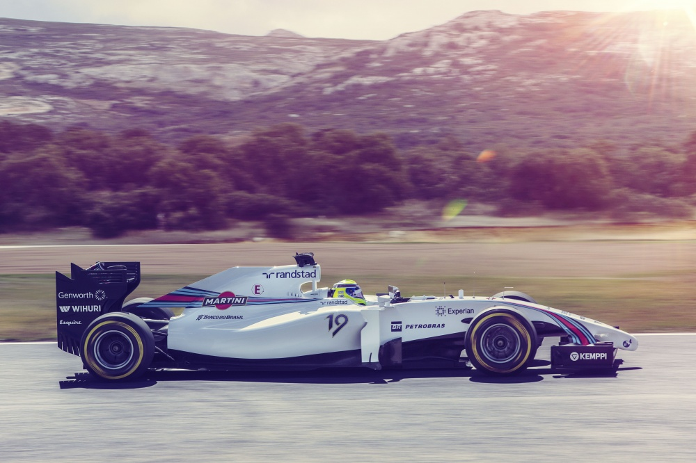 Bild: Formel 1, 2014, Williams, Mercedes