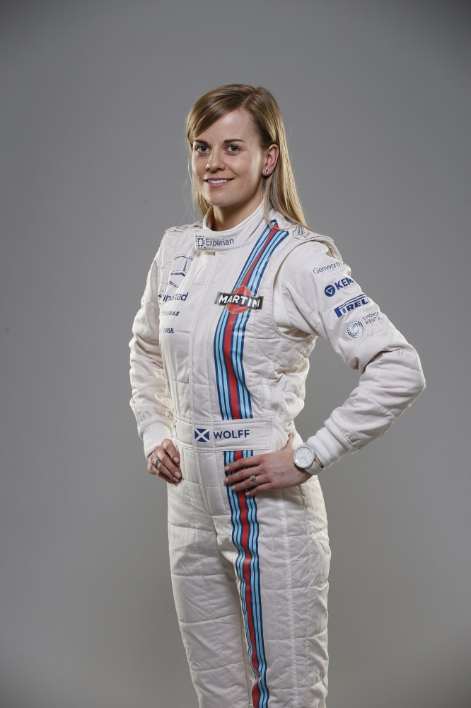 Bild: Formel 1, 2014, Williams, Susie Wolff, Stoddart