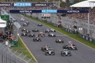 Bild: Formel 1, 2014, Melbourne, Start