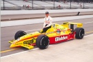 Greg Ray - Team Menard - Dallara IR7 - Oldsmobile