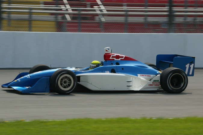 Bild: Richie Hearn - A.J. Foyt Enterprises - Dallara IR-02 - Chevrolet