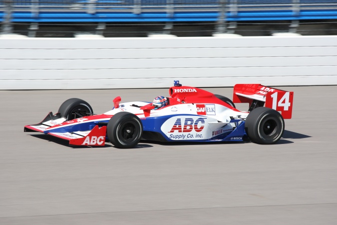 Bild: Ryan Hunter-Reay - A.J. Foyt Enterprises - Dallara IR-05 - Honda