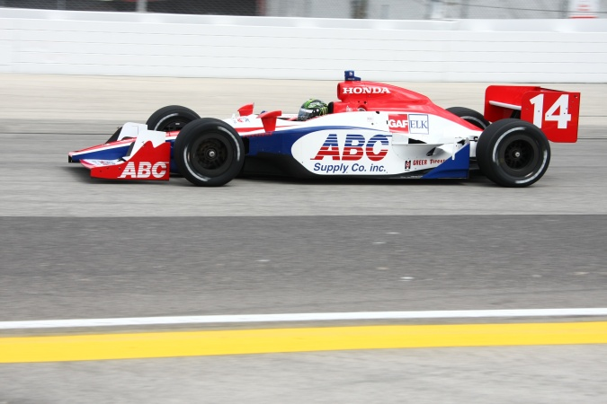 Bild: Paul Tracy - A.J. Foyt Enterprises - Dallara IR-05 - Honda