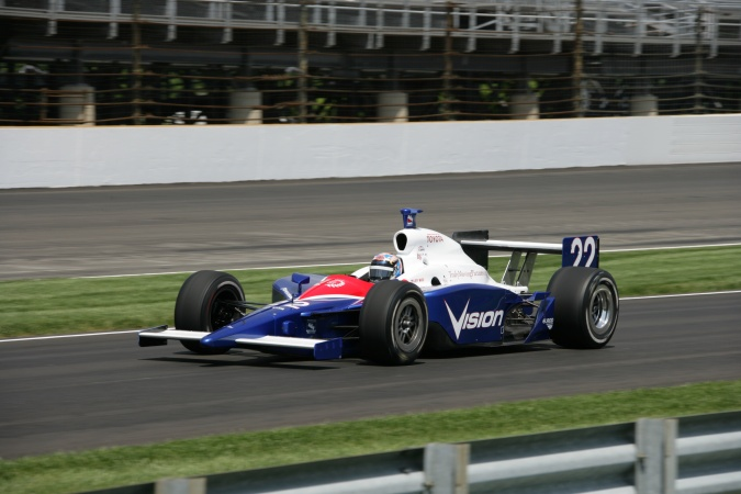 Bild: Jeff Ward - A.J. Foyt Enterprises - Dallara IR-05 - Toyota