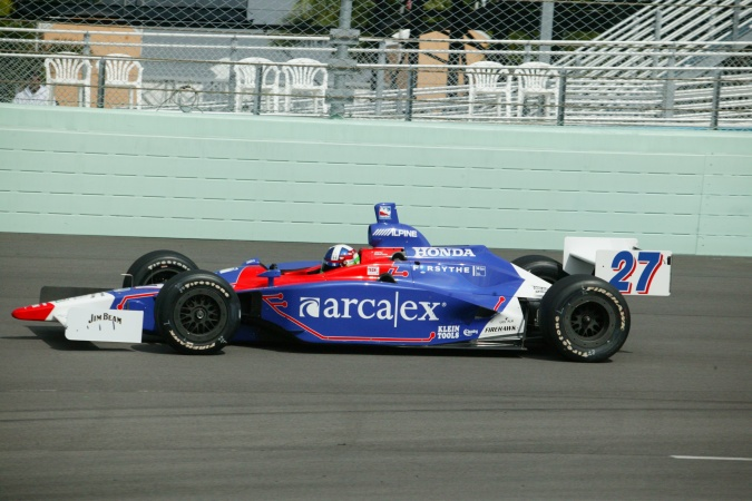 Bild: Dario Franchitti - Andretti Green Racing - Dallara IR-03 - Honda