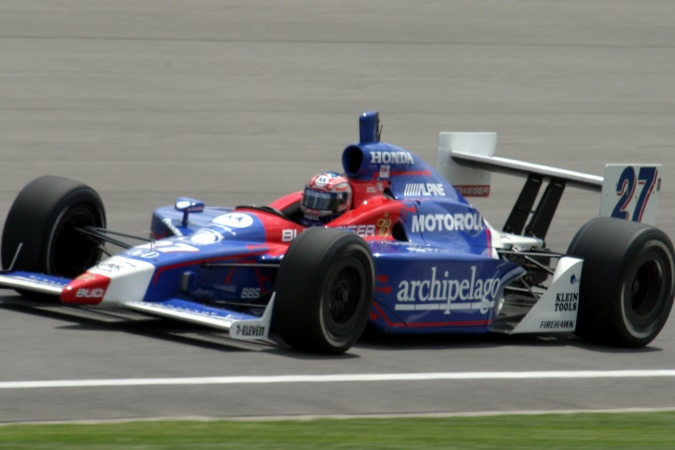 Bild: Robby Gordon - Andretti Green Racing - Dallara IR-03 - Honda