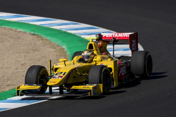 Bild: Sean Gelael - Arden International - Dallara GP2/11 - Mecachrome