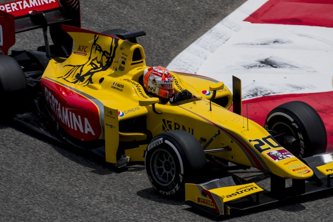 Bild: Norman Nato - Arden International - Dallara GP2/11 - Mecachrome
