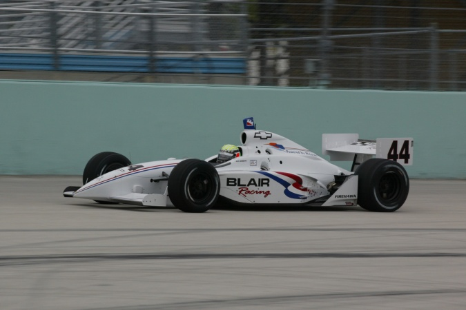 Bild: Alex Barron - Blair Racing - Dallara IR-02 - Chevrolet