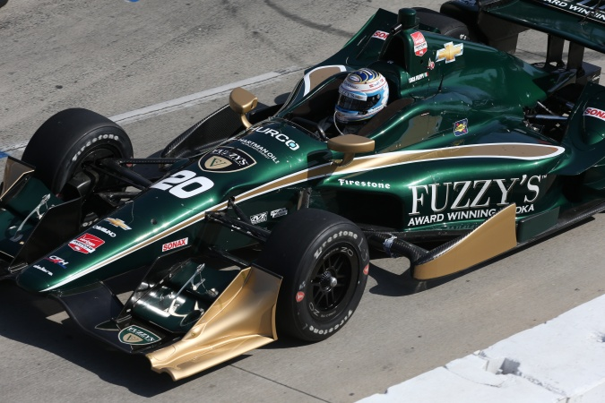 Bild: Luca Filippi - CFH Racing - Dallara DW12 - Chevrolet