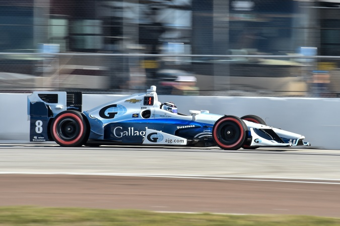 Bild: Max Chilton - Chip Ganassi Racing - Dallara DW12 - Chevrolet