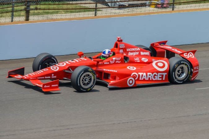 Bild: Dario Franchitti - Chip Ganassi Racing - Dallara DW12 - Honda