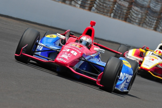 Bild: Graham Rahal - Chip Ganassi Racing - Dallara DW12 - Honda