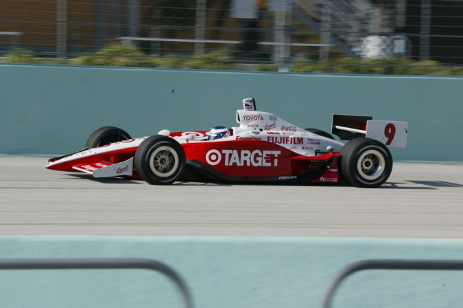 Bild: Scott Dixon - Chip Ganassi Racing - Panoz G-Force GF09 - Toyota