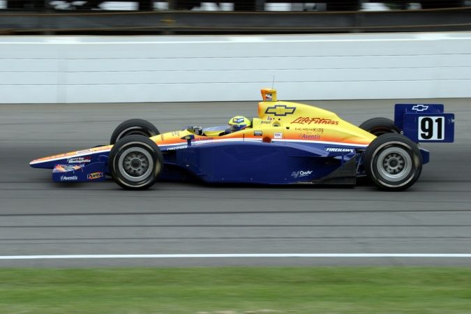 Bild: Buddy Lazier - Dreyer & Reinbold Racing - Dallara IR-03 - Chevrolet