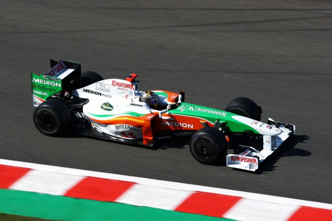 Bild: Adrian Sutil - Force India - Force India VJM02 - Mercedes