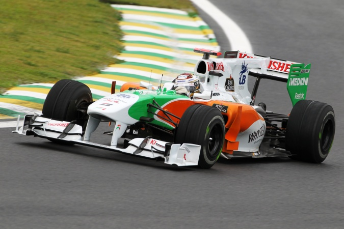 Bild: Adrian Sutil - Force India - Force India VJM03 - Mercedes