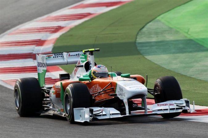Bild: Paul di Resta - Force India - Force India VJM04 - Mercedes
