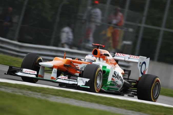 Bild: Paul di Resta - Force India - Force India VJM05 - Mercedes