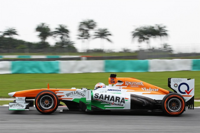 Bild: Paul di Resta - Force India - Force India VJM06 - Mercedes