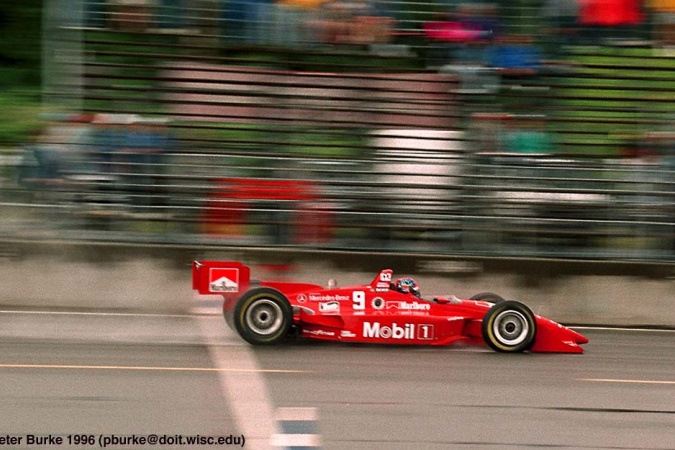 Bild: Emerson Fittipaldi - Hogan Racing - Penske PC25 - Mercedes