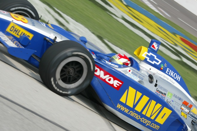 Bild: Hideki Noda - Indy Regency Racing - G-Force GF05 - Chevrolet