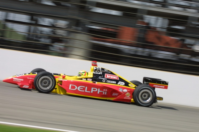 Bild: Mark Dismore - Kelley Racing - Dallara IR-01 - Oldsmobile