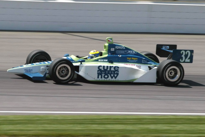 Bild: Tony Renna - Kelley Racing - Dallara IR-03 - Toyota