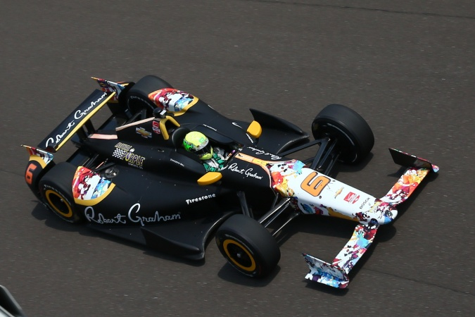 Bild: Townsend Bell - KV Racing Technology - Dallara DW12 - Chevrolet