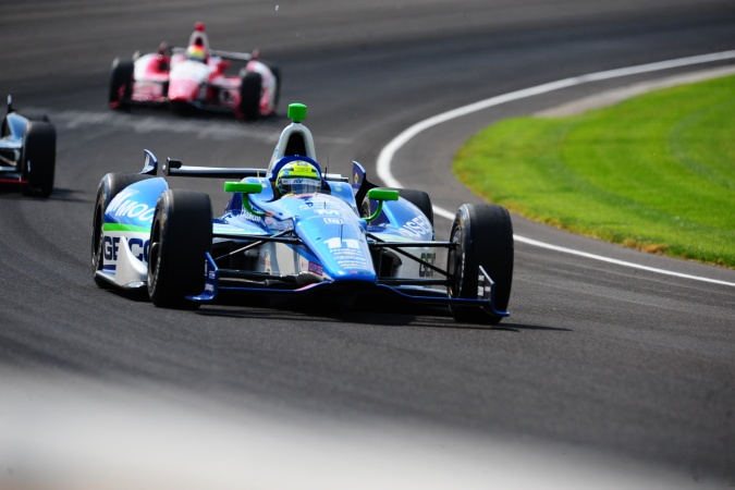 Bild: Tony Kanaan - KV Racing Technology - Dallara DW12 - Chevrolet