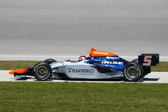 Bild: Oriol Servia - KV Racing Technology - Dallara IR-05 - Honda