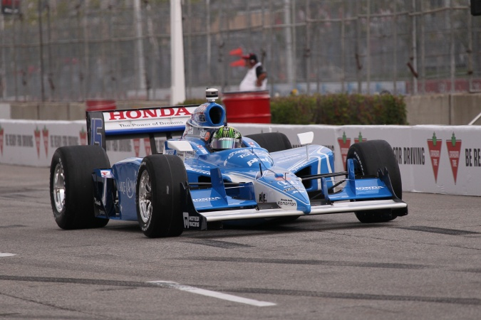 Bild: Paul Tracy - KV Racing Technology - Dallara IR-05 - Honda