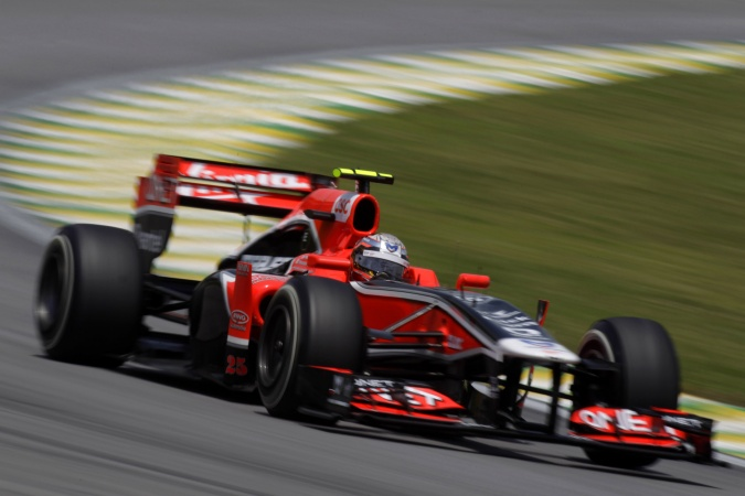 Bild: Jerome d'Ambrosio - Marussia Virgin Racing - Virgin MVR-02 - Cosworth