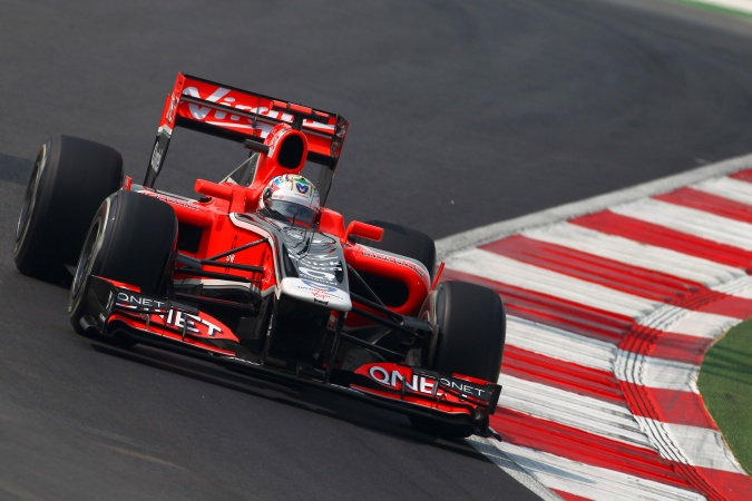 Bild: Timo Glock - Marussia Virgin Racing - Virgin MVR-02 - Cosworth