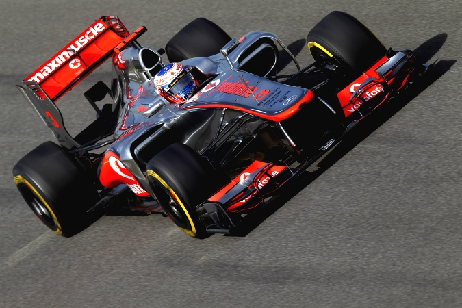 Bild: Jenson Button - McLaren - McLaren MP4-27 - Mercedes