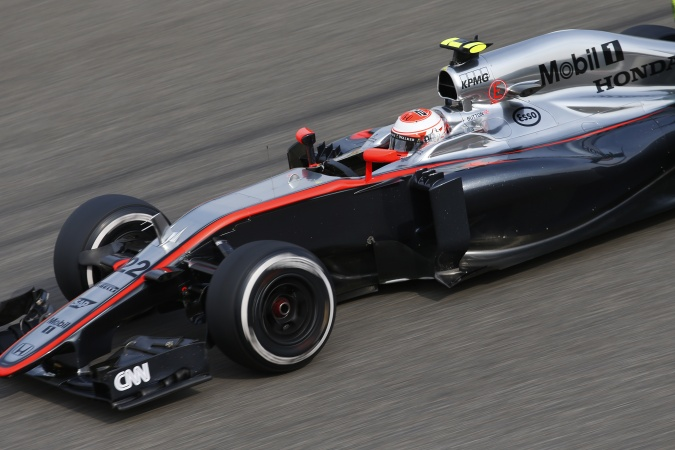 Bild: Jenson Button - McLaren - McLaren MP4-30 - Honda