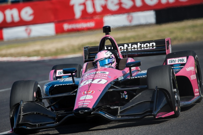 Bild: Jack Harvey - Meyer Shank Racing - Dallara DW12 - Honda