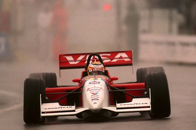 Bild: Mark Blundell - PacWest Racing - Reynard 96i - Ford